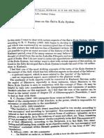 Alfonso Pillai- On the Saiva Kula System