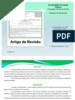 apresentação - ecologia