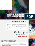 Ch11 Conflict and Negotiation
