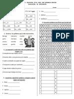 PRUEBA   DE DESEMPEÑO - ORTOGRAFÍA - gue - rr - plural z.docx