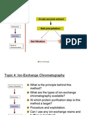 Ion Exchange Chromatography Ppt | Ion Exchange | Chromatography