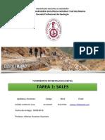 Español, Resumen de Sales