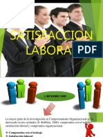 Satisfaction Laboral - Psicologia Organizacional