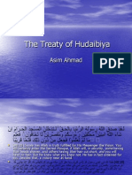 Presentation the Treaty of Hudaibiya