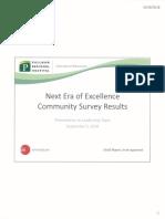 PRH Community Survey Results 2018