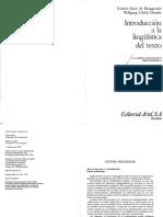 BeauGrande & Dressler - Introducción a la Lingüística del Texto.pdf