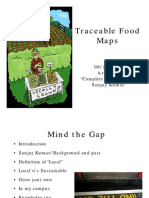 Traceable Food Maps