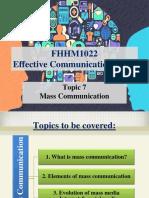 Topic 7 - Mass Communication 1 (1)