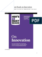 HBR's 10 must read on innovation.docx