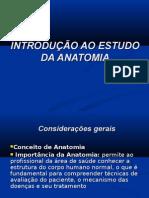 INTRODUÇÃO AO ESTUDO DA ANATOMIA2008