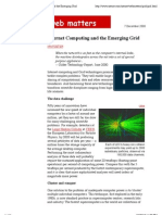 Nature Web Matters  Internet Computing and the Emerging Grid