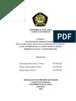 Laporan Pkpa Di Pt Kalbe Farma Tbk Cikarang Periode Agustus