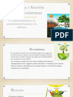 Estructura y función de los ecosistemas