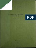 Catalogue of Ceylonese Manuscripts by c. e. Godakumbura