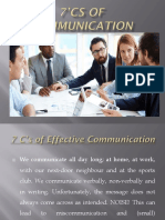7'Cs of Communication