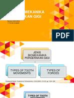 Jenis Biomekanika Pergerakan Gigi