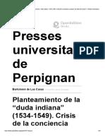 Bartolomé de Las Casas - Planteamiento ... - Presses universitaires de Perpignan.pdf