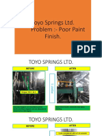 Toyo Springs Ltd (Action Plan Lucknow)