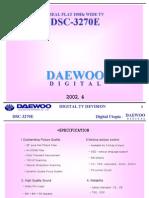 Daewoo Real Flat Dsc-3270e Training_manual