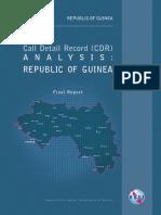 Guinea Cdr Analysis
