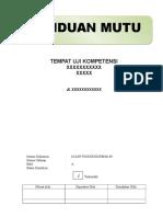 Panduan Mutu TUK.doc