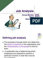 Job Analysis 3
