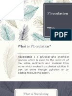 Chemical Method Flocculation
