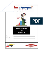 Robo Champs Olympiad Q Sample Paper