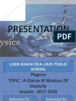 Presentation Physics