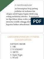Cardiorespiratory Fitness Classification