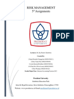 Risk Management Assigment 5.docx
