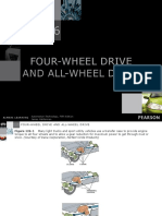All wheel drive and four wheel drive automobile.