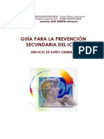 Guia Prevencion Secundaria Del Ictus