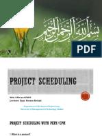 Lecture 10 (Pert Cpm)
