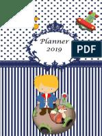Planner Pequeno Principe
