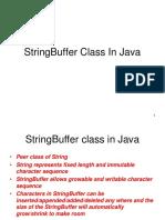 StringBuffer Class Examples