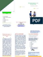 folleto de Autoestima - Rodrigo Ramírez Peña