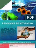 PROGRAMA de Mitigacion
