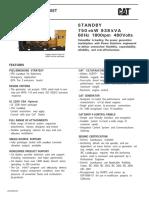 750 C27 Spec Sheet