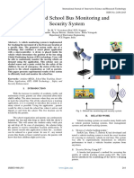 IOT Based School Bus Monitoring and Security System