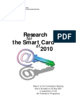 EU - Research for the Smart Card of 2010 - V51