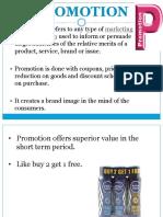 Retail Marketing Mix