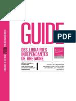 Guide des librairies indépendantes de Bretagne 2018