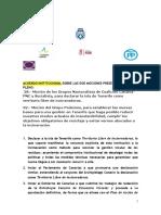 Acuerdo Institucional Residuos, No Incineracion, Podemos Cabildo Tenerife (Pleno Insular Marzo 2019)