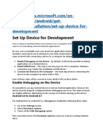 Set Up Device for Development.docx