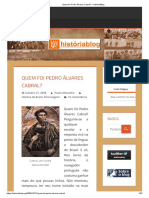 Quem Foi Pedro Álvares Cabral_ – HistóriaBlog