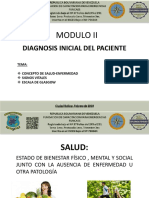 Modulo II Diagnosis Del Paciente