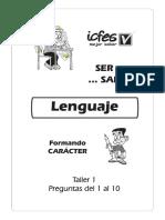 01 Lenguaje Leccion 1 Prg 1 a 10 PDF