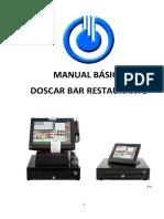 Manual Basico Bar Restaurante Software Doscar