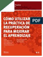 Retrieval Practice Guide Spanish